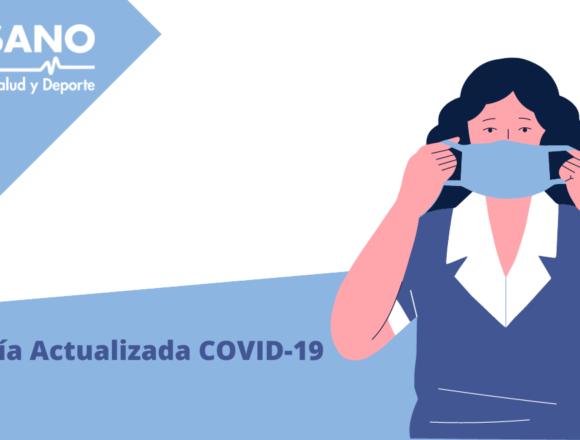 Guía actualizada COVID-19